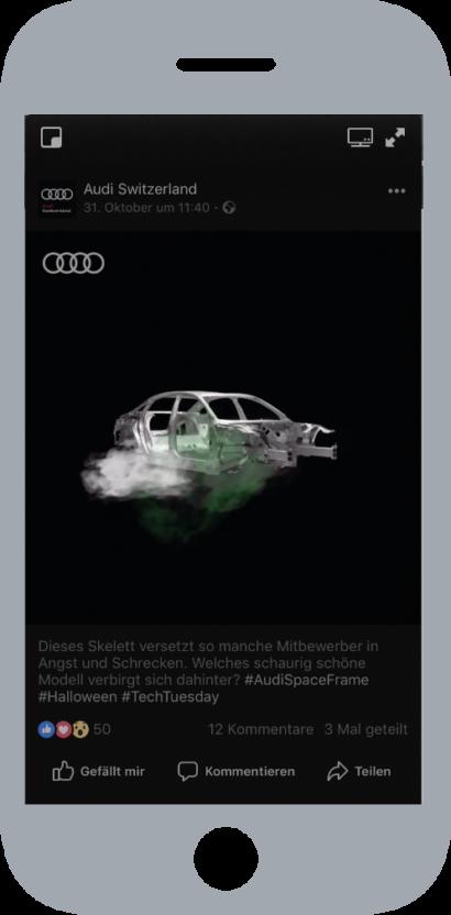 Audi-Halloween Facebook