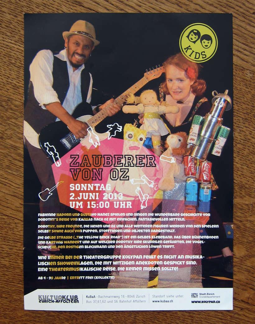 Flyer Kulturclub Affoltern