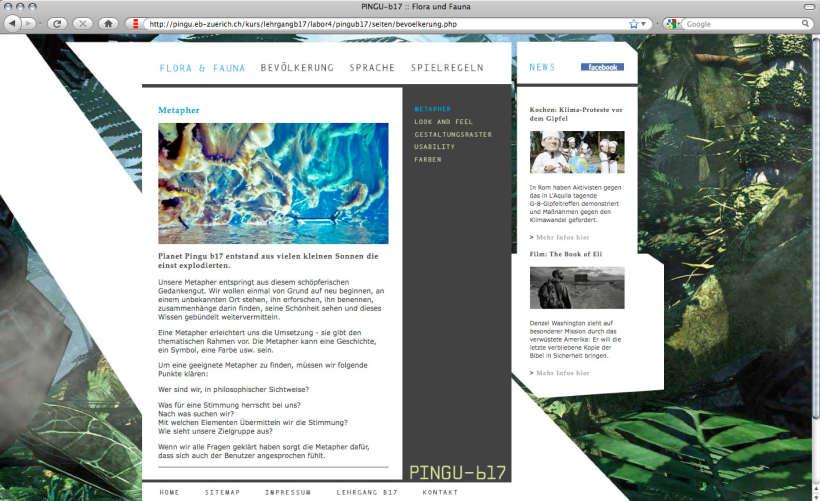Modulwebsite planet Pingub17