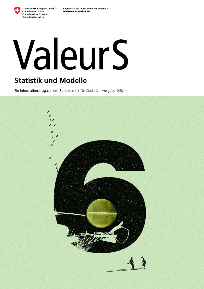 Titelseite ValeurS, Bundesamt für Statistik